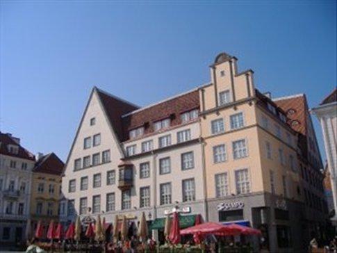 Main square, Tallinn.