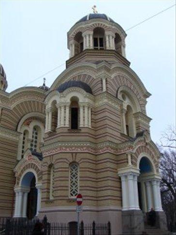 ortodox church in Riga