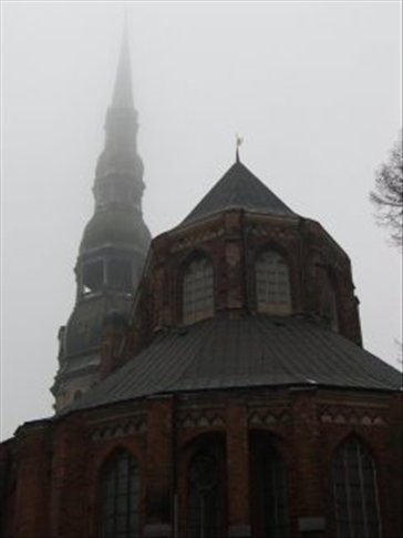 St Peter's cathedral, Riga