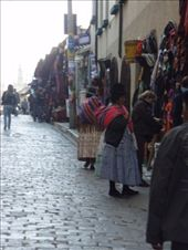 Traditionaly dressed women in the witches market: by bagen, Views[817]