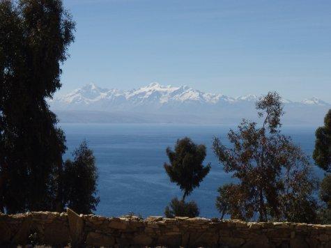 Lake Titicaca and the Cordillera Real.