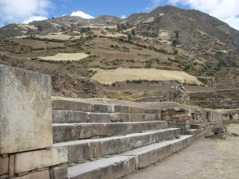 The ruins of Chavin.  The Chavin people pre-date the Incas by almost 2000 years!