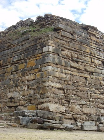The size and precision of the stone blocks  makes it hard to believe they were created around 800bc!  Thats pre-power tools people!