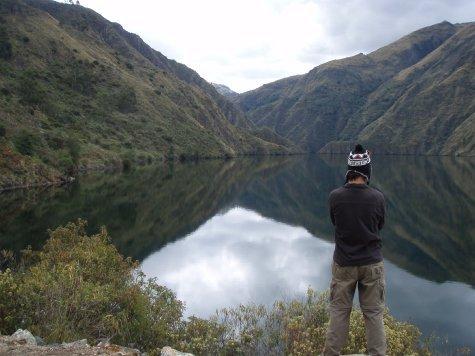 Laguna Perahuay.