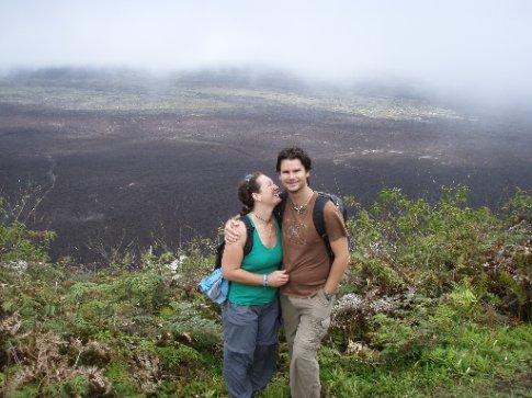 Its big!  The crater!