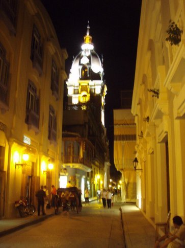 Night time Cartagena
