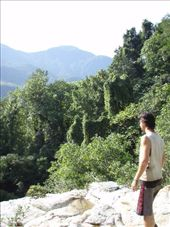 Standing at the top of hidden waterfall that only our guide new about: by bagen, Views[199]