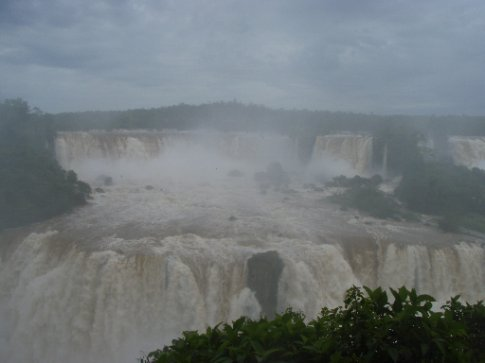 Even this photo only shows a very small part of the whole series of falls.