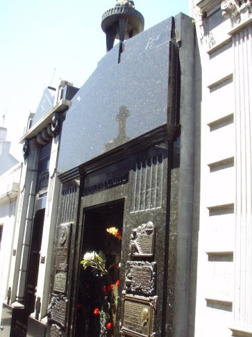 Eva Peron`s (Evitas) tomb thingy.