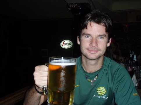 I`ll have one litre of beer please.  Or
