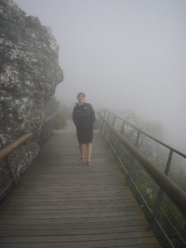 Ange in the mist