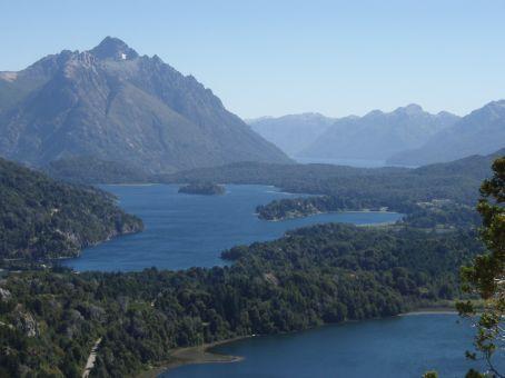 View from atop Cerro Campano.