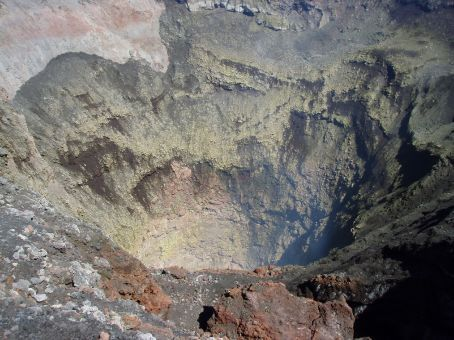The crater!