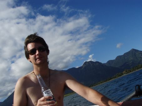Sunshine, a beautiful lake and an ice cold corona!  Have we mentioned how tough this travel business is?