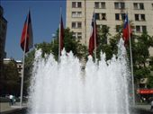 Fountain with Chile´s flag. Um not much else to say: by bagen, Views[854]