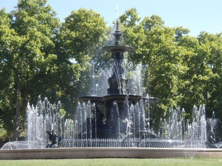 Another lovely fountain but this one in Mendoza