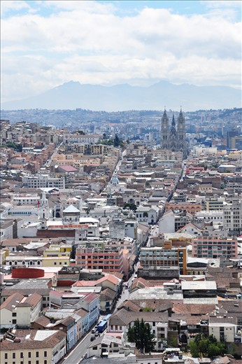 Quito:  A view from above