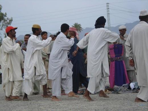 Balochi Cultural Ritual Shayfarjah is being celebrated at Tump Kech