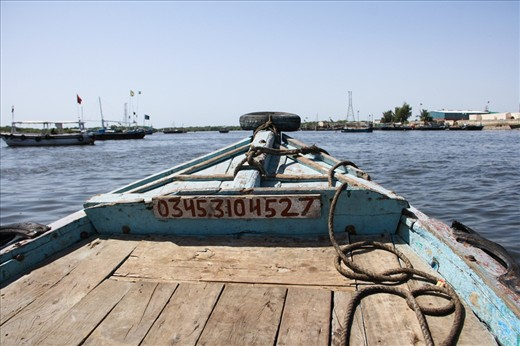 Enroute to the Baba Bhit Island, fishing islands off the Karachi harbor.