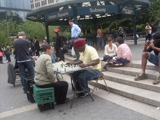Chess. Union Square
