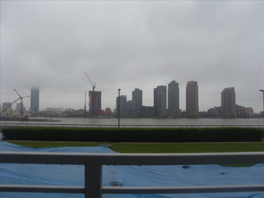View from UN Headquarters to New Jersey