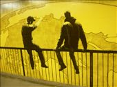 Graffiti. Men looking to the world. : by baskets_in_a_ring, Views[518]