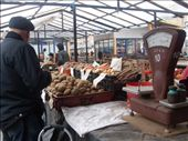 Potatoes recovered with soil. Central Market: by baskets_in_a_ring, Views[183]