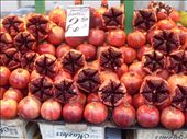 Red pome granates. Central Market: by baskets_in_a_ring, Views[849]
