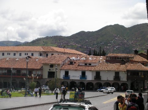 Houses on the mountains