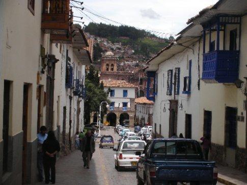 Narrow streets of Cuzco