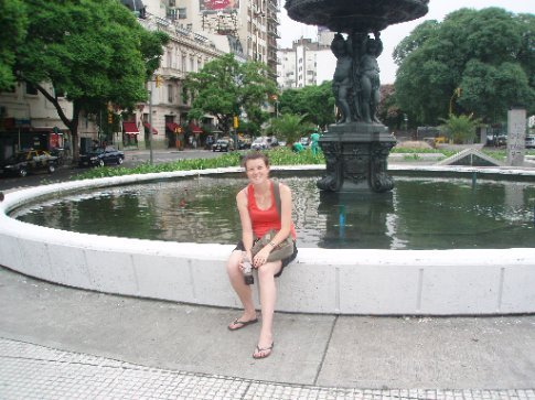 Bec in Buenos Aires
