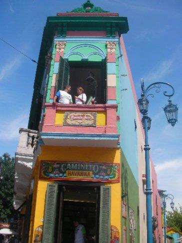 Caminito in La Boca - I have no idea why its so famous