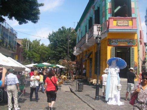 La Boca Area - Very Touristy!