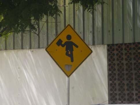 What the hell does this sign mean?