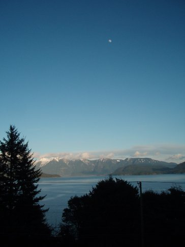 View from our balcony in Gibsons