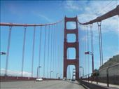 Driving onto the Golden Gate bridge: by bec-simon, Views[392]