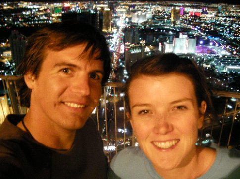 Us on top of the Stratosphere