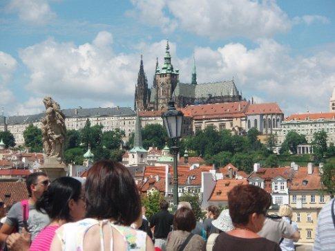 Prague castle, biggest castle in the world
