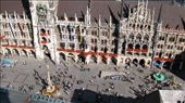 Marienplatz in Munich. The column on the left is where my tours start: by bec-simon, Views[386]