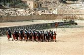 Gladiators coming out for their daily show in Jerash: by bec-simon, Views[283]