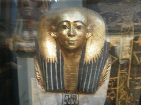 Death Mask in the British Museum