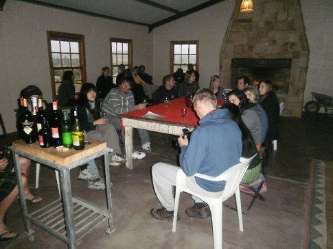 Taking in some wine tasting in Cederburg