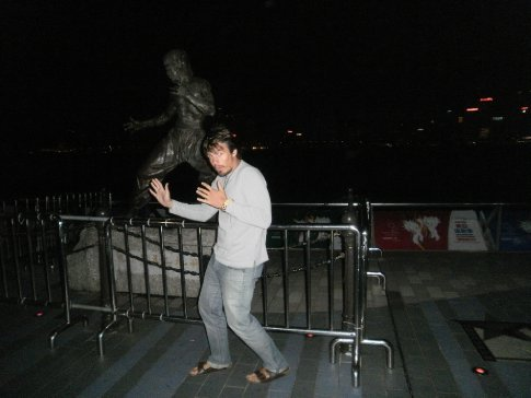 Simon v Bruce Lee...again, not from Hong Kong