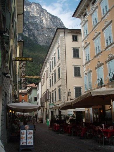 Old town in Riva del Garda