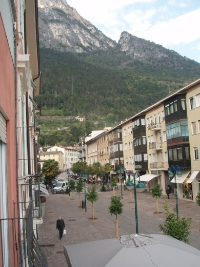 View from our balcony in Riva