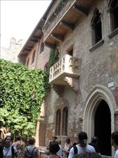 Juliet's balcony in Verona: by bec-simon, Views[421]