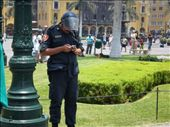 The peruvian polce force....always heard at work on officail activities: by becci_m, Views[244]