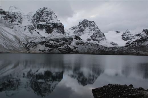 Day 4:Mount Condoriri with snow