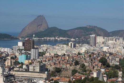 View of Rio and Sugar Loaf Mountain from Santa Teresa