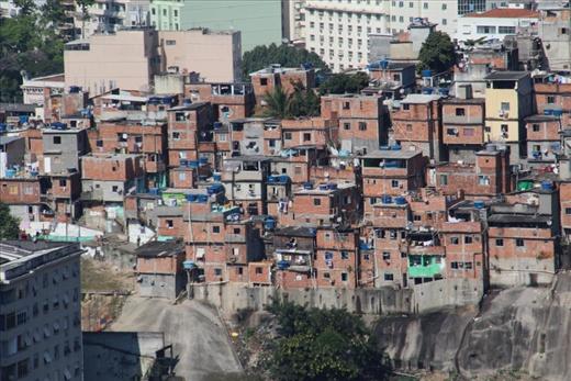 Favela view from Santa Teresa